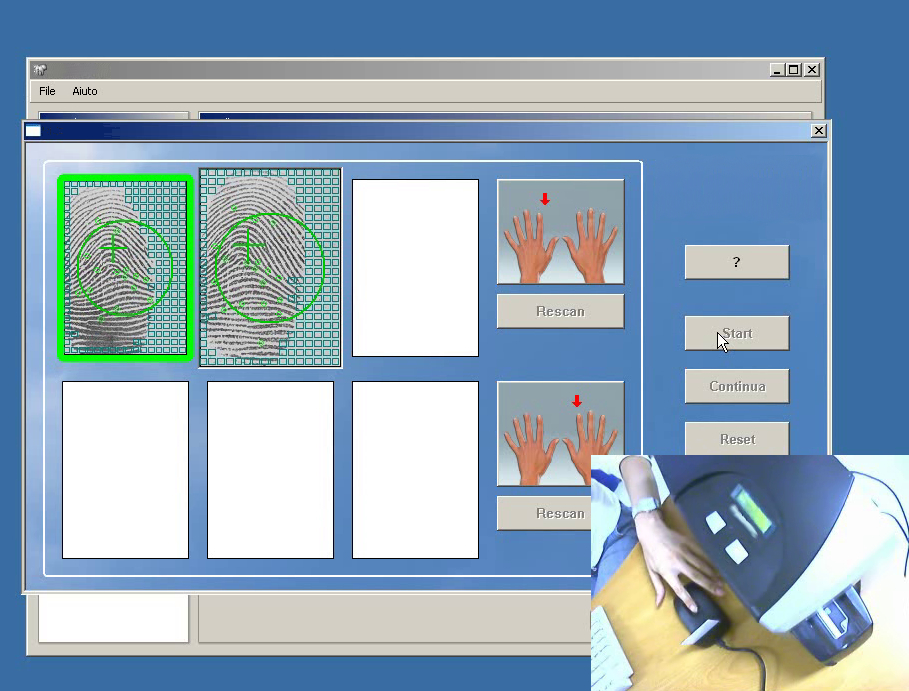 Init smart card - Biometric pin