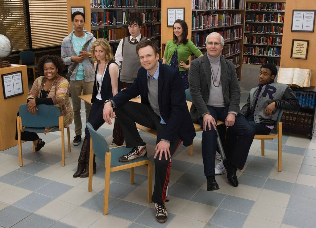 Il cast di Community